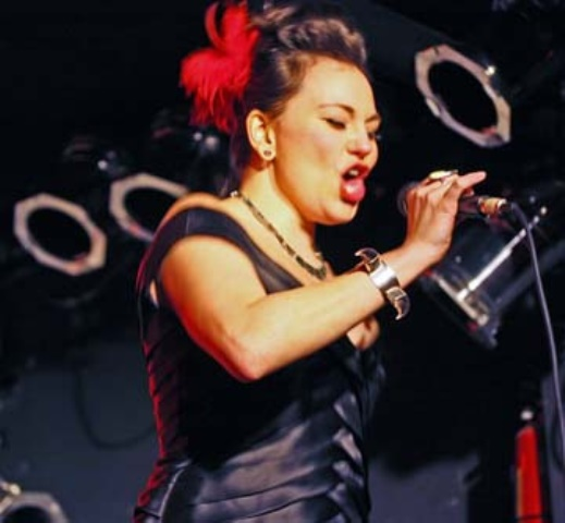 Tanya Tagaq is a throat singer. Photo by williamaveryhudson (William Avery Hudson), Flickr