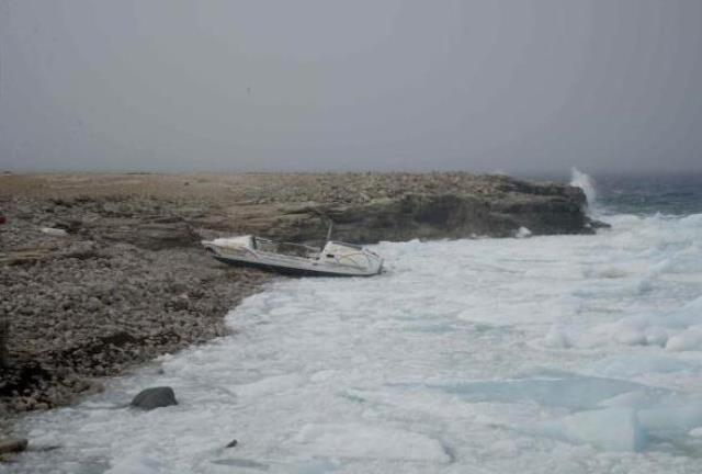 Rocky barren Arctic shoreline Photo: Last First Expedition, Kevin Vallely, submitted to The Vancouver Sun