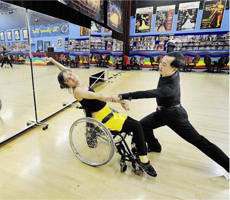 Wheelchair dancing Photo: Mark Van Mane / PNG