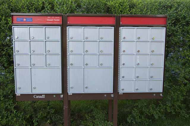 Group mailboxes in new subdivision PHOTO – PHRAWR / CC,FLICKR