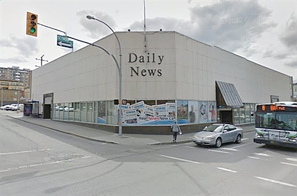 The Kamloops Daily News published for 80 years. (Photo: Courtesy Kamloops Daily News)