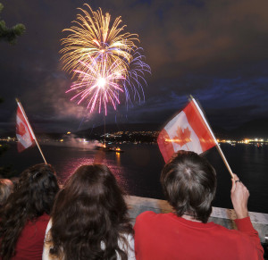 Canadians celebrate Canada Day. Photo: Stuart Davis/The Province