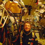 Deep-Sea Diver – Orion Foster says he loves his job at the bottom of the sea. Photo: The Province