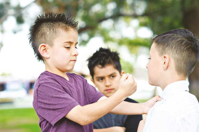 Physical bullying (Photo: iStockphoto)