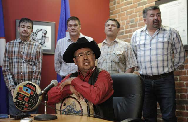 Chief Roger William welcomes the decision. (Photo: Nick Procaylo/The Province)