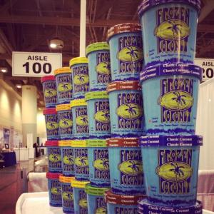 Caption: Frozen Coconut showed their new product at a trade show in Toronto. Photo by Frozen Coconut.