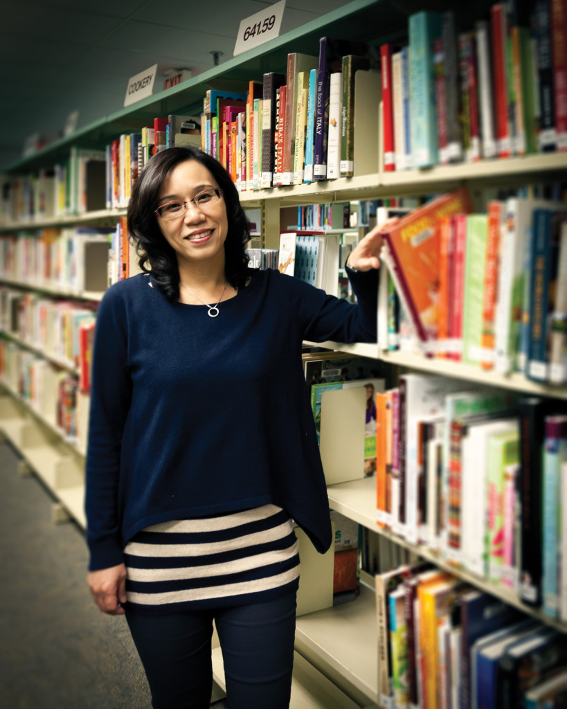Shu Ming Chen is a Vancouver Public Library champion.