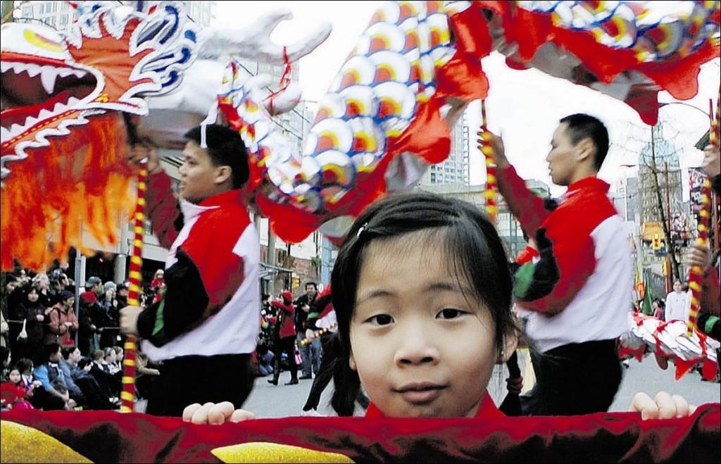 Vancouver's annual Chinese New Year parade in 2014. Photo by Ward Perrin/The Vancouver Sun