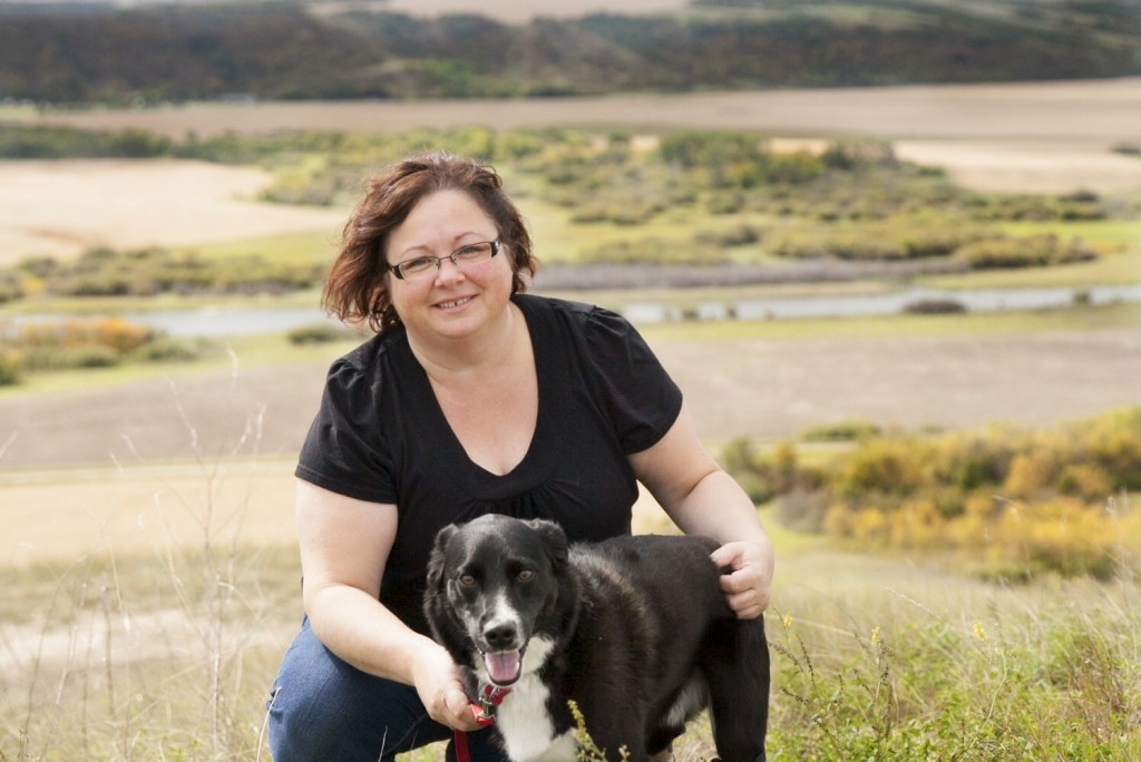 Lisa Korol adopted Hector, a rescue dog. She helped him get two new legs. Photo courtesy Lisa Korol