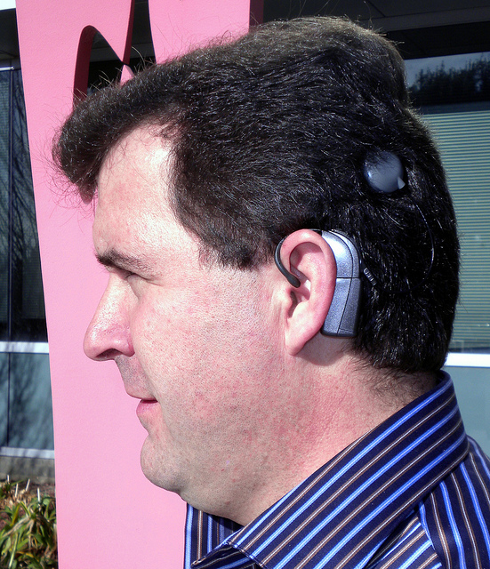 Adults have had cochlear implants for years. https://flic.kr/p/9gVDDn/ Photo by Yahoo! Accessibility Lab