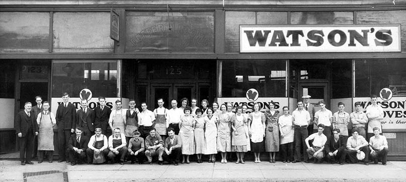 Watson Gloves opened in 1918