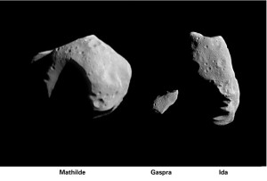 Three asteroids Photo by NASA APPEL/CC, Flickr