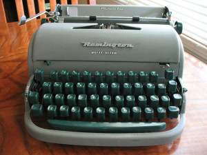 A typewriter Photo by mpclemens/CC, Flickr