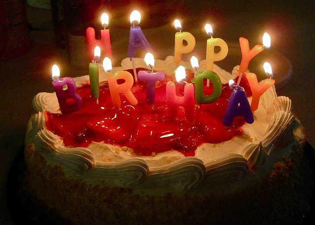 A birthday cake Photo by CJ Sorg/CC, Flickr