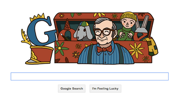 "Google Doodle on Nov. 26, 2012 ""ErnieCoombsGoogleDoodle"" Source: Wikipedia"
