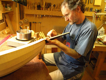 Grant Tomlinson is a world-renowned lute maker living in Vancouver Photo – Courtesy of Grant Tomlinson