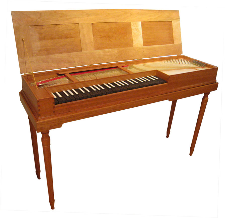 A clavichord made by Craig Tomlinson Photo Courtesy of Craig Tomlinson