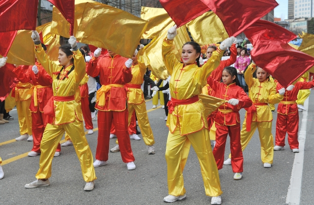 Vancouver Chinese New Year parade 2015 PHOTO – Wayne Leidenfrost/Vancouver Sun