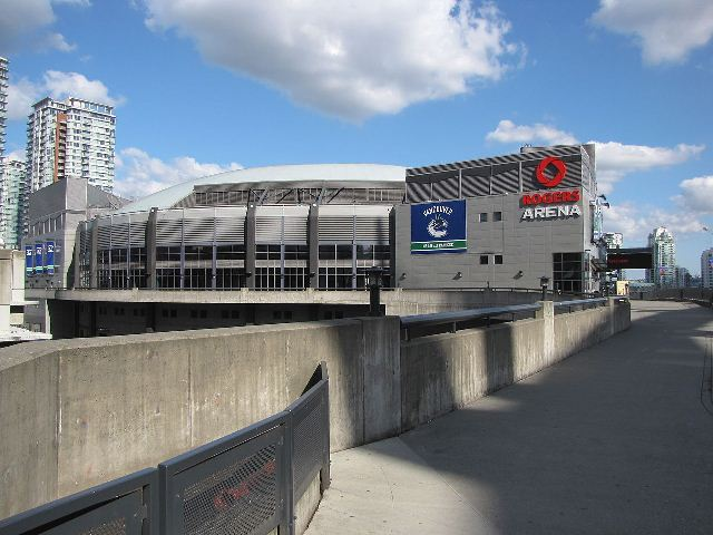 Rogers Arena Photo by Hucul002, Wikimedia