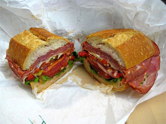 Submarine sandwich Photo: Public Domain, Wikipedia