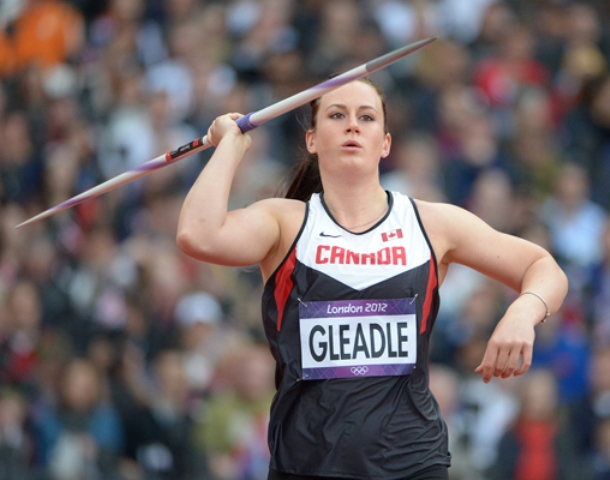 Liz Gleadle finished 12th in women's javelin at the 2012 London Summer Games.Photograph by Athletics Canada photo, for The Vancouver Courier